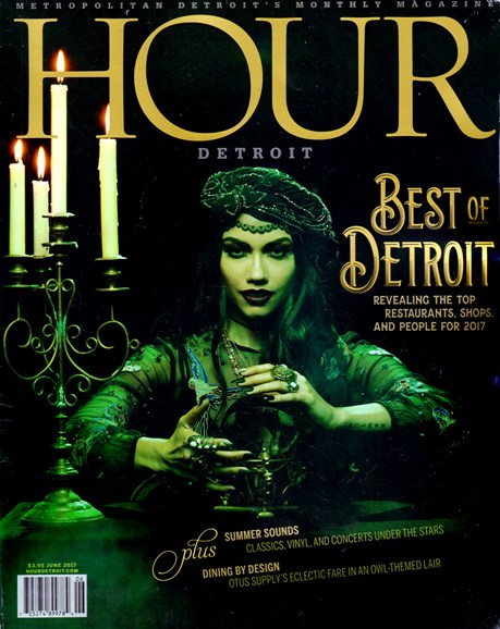 Hour Detroit Cover - 6/1/2017