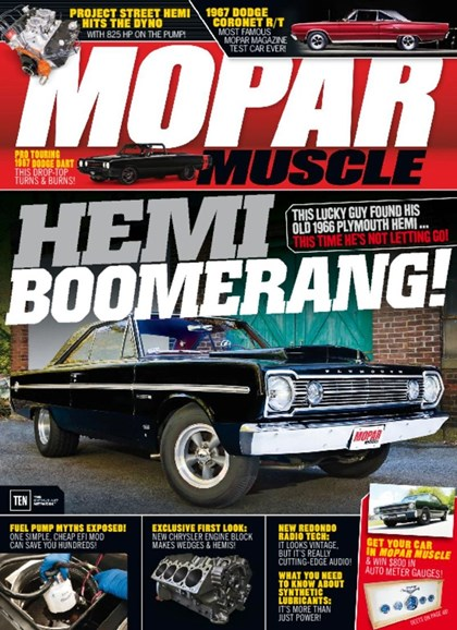 Mopar Muscle Cover - 6/1/2017