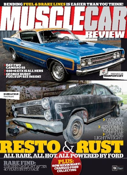 Muscle Car Review Cover - 6/1/2017