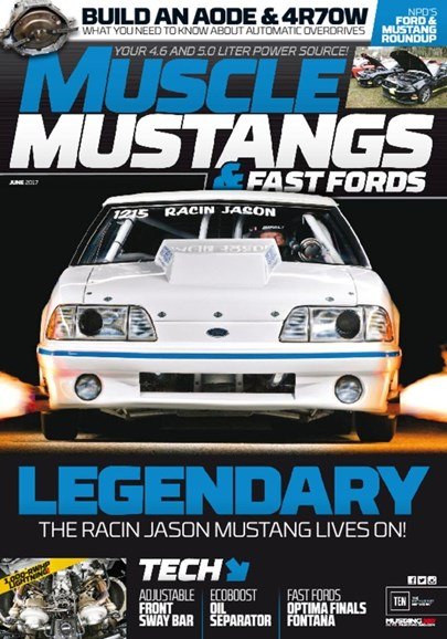 Muscle Mustangs & Fast Fords Cover - 6/1/2017
