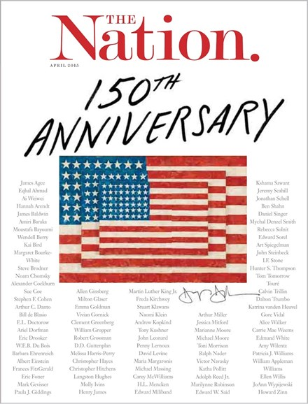 The Nation Cover - 4/6/2015