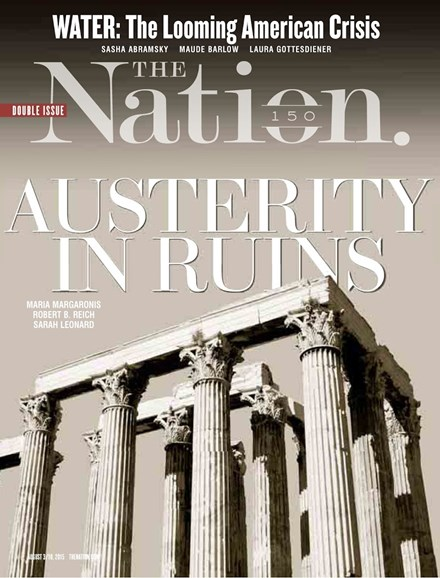 The Nation Cover - 8/3/2015
