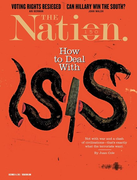 The Nation Cover - 12/14/2015