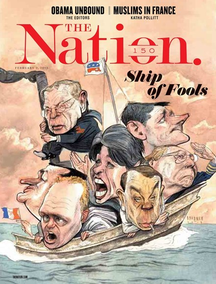 The Nation Cover - 2/9/2015