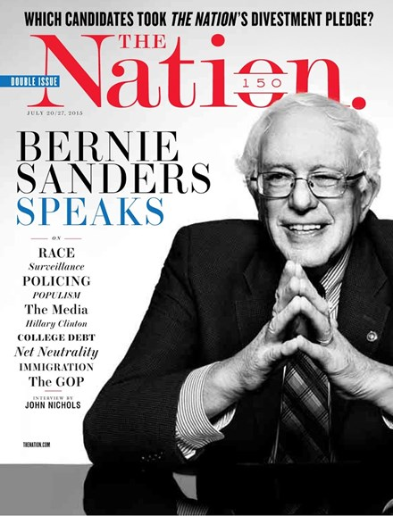 The Nation Cover - 7/20/2015