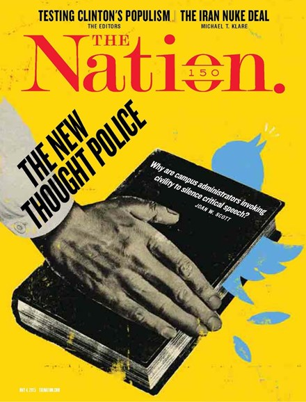 The Nation Cover - 5/4/2015