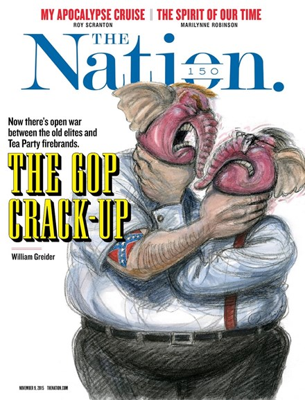 The Nation Cover - 11/9/2015