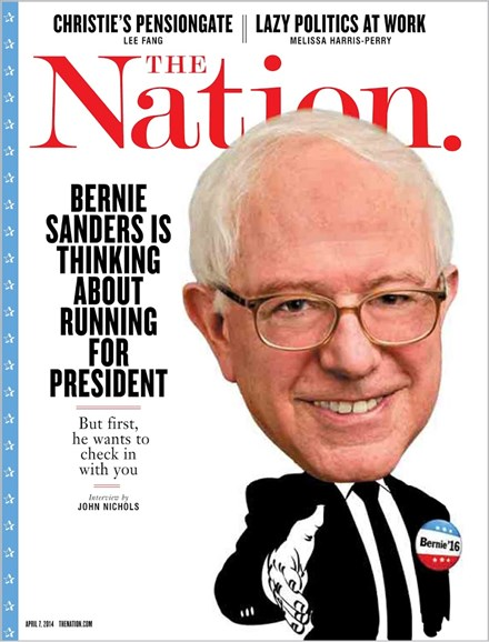 The Nation Cover - 4/7/2014