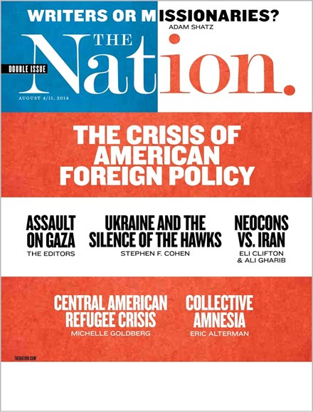 The Nation Cover - 8/4/2014