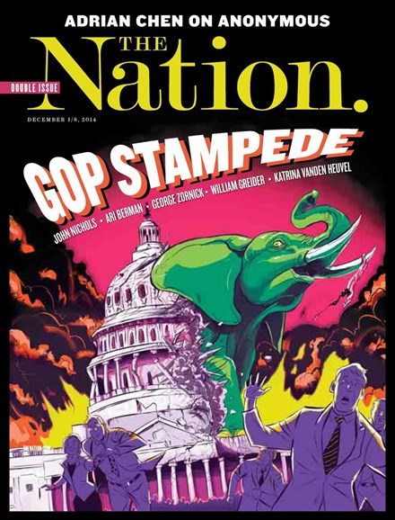 The Nation Cover - 12/1/2014