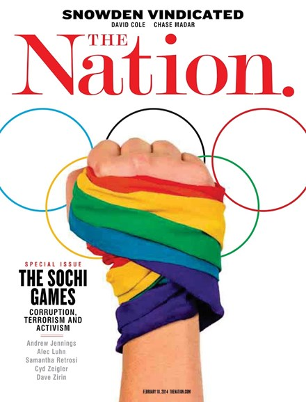 The Nation Cover - 2/10/2014