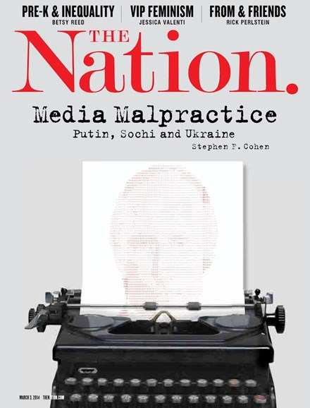 The Nation Cover - 5/3/2014