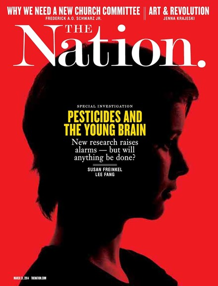 The Nation Cover - 3/31/2014