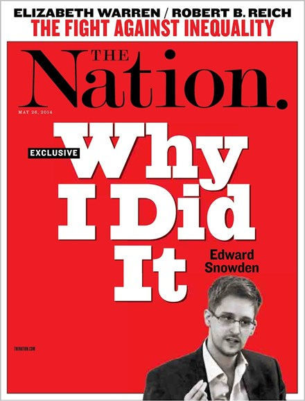 The Nation Cover - 5/26/2014