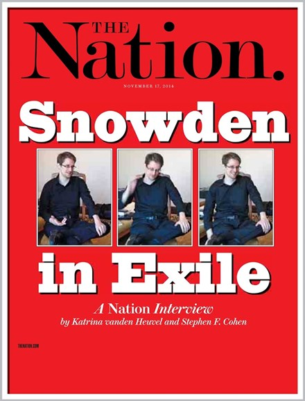 The Nation Cover - 11/17/2014