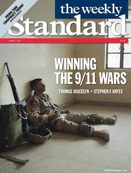 Washington Examiner Cover - 6/5/2017