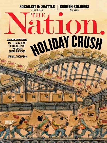 The Nation Cover - 12/16/2013