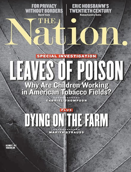 The Nation Cover - 12/2/2013