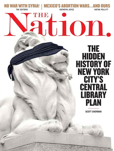 The Nation Cover - 9/16/2013