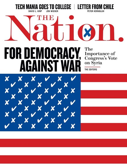 The Nation Cover - 9/23/2013
