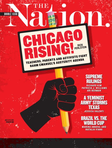 The Nation Cover - 7/22/2013
