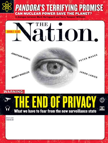 The Nation Cover - 7/8/2013