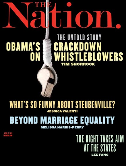 The Nation Cover - 4/15/2013