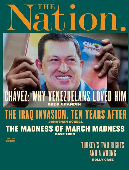 The Nation Cover - 4/1/2013