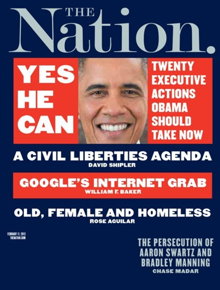 The Nation Cover - 2/11/2013