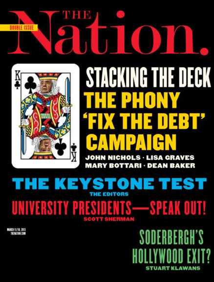 The Nation Cover - 3/11/2013
