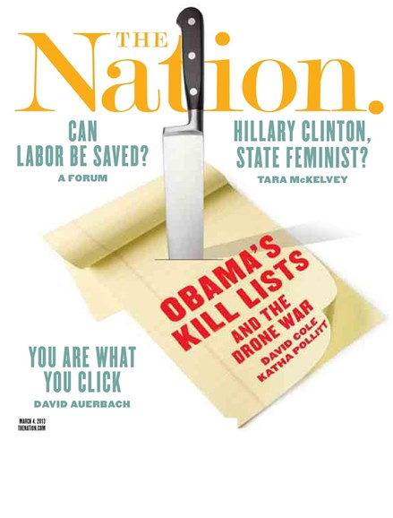 The Nation Cover - 3/4/2013