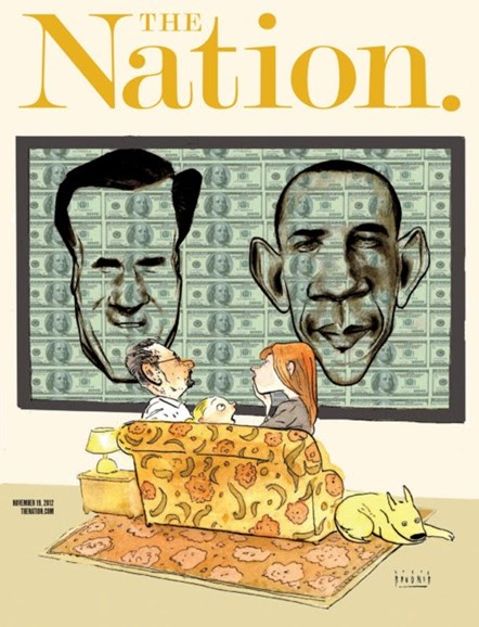 The Nation Cover - 11/19/2012