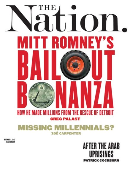 The Nation Cover - 11/5/2012