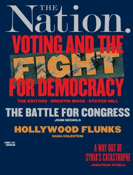 The Nation Cover - 10/15/2012