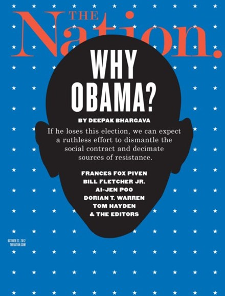 The Nation Cover - 10/22/2012