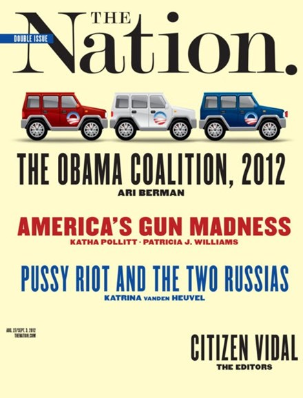 The Nation Cover - 8/27/2012