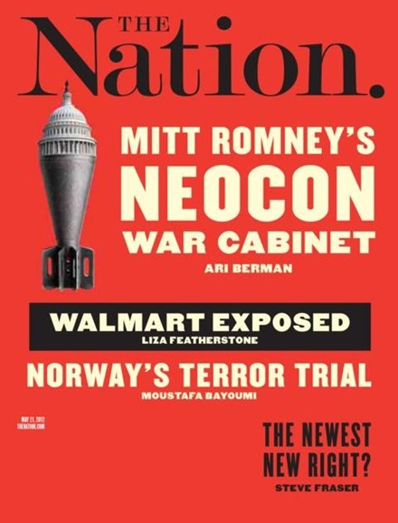 The Nation Cover - 5/21/2012