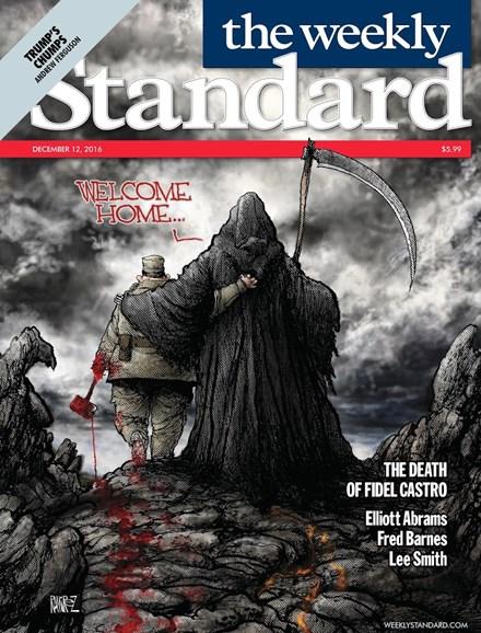 Washington Examiner Cover - 12/12/2016