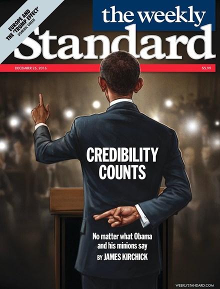 Washington Examiner Cover - 12/26/2016