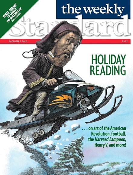 Washington Examiner Cover - 12/5/2016