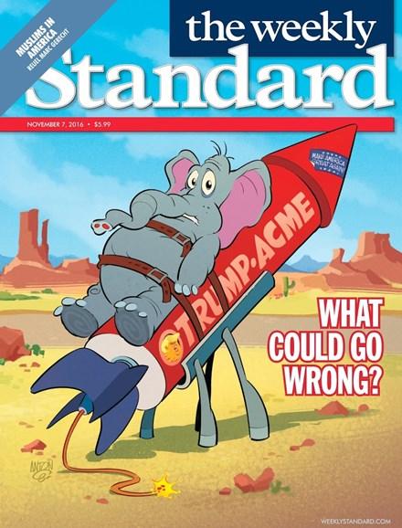 Washington Examiner Cover - 11/7/2016