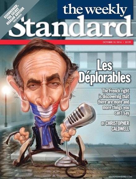 Washington Examiner Cover - 10/10/2016