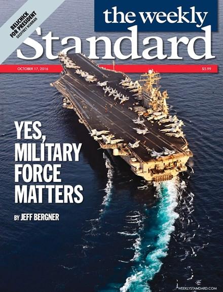 Washington Examiner Cover - 10/17/2016