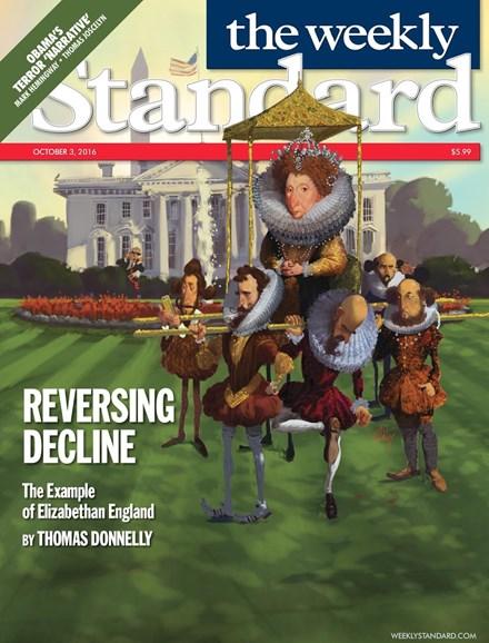 Washington Examiner Cover - 10/3/2016