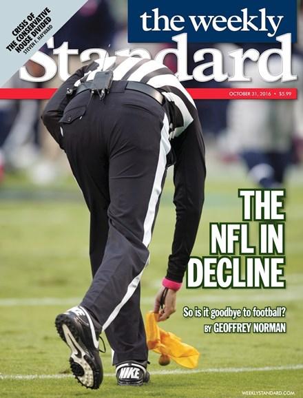 Washington Examiner Cover - 10/31/2016