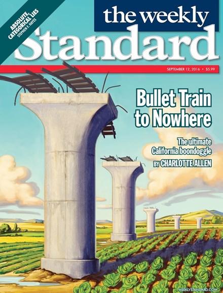 Washington Examiner Cover - 9/12/2016
