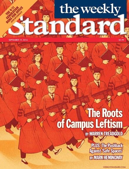 Washington Examiner Cover - 9/19/2016