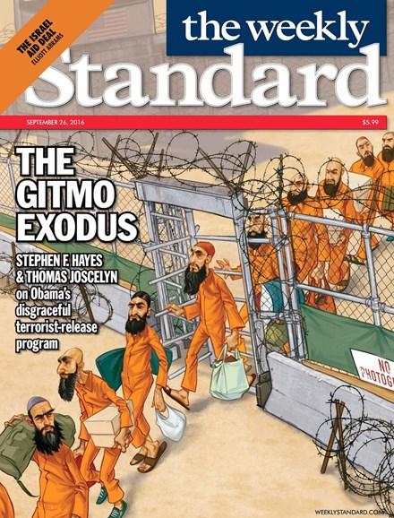 Washington Examiner Cover - 9/26/2016