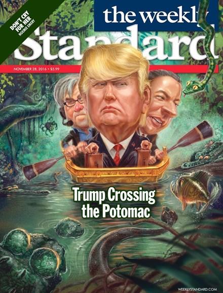 Washington Examiner Cover - 11/28/2016