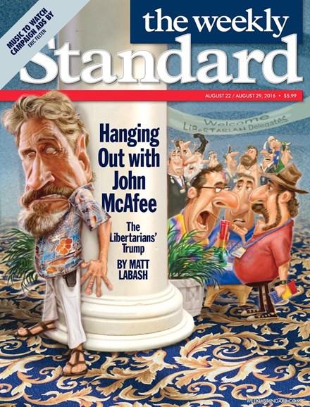 Washington Examiner Cover - 8/22/2016